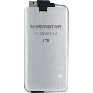 Monster Digital Overdrive 3.0 SSDOU-1000-A 1 TB External Solid State Drive
