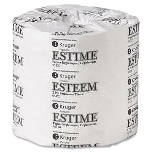 Metro Bathroom Tissue 2-ply 500 sheets per roll 48 rolls/ctn