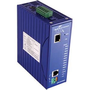 B&B POE Ethernet Extender, 1 POE 10/100, DIN Rail