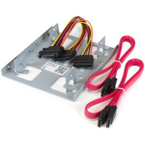 Dual 2.5in SATA HDD/Ssd To 3.5 Bay Mounting Bracket Adapter / Mfr. No.: Bracket25x2