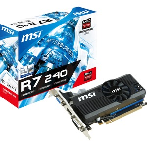 R7 240 2gd3 Lp 730mhz Gpu Core 1800mhz 128bit / Mfr. No.: R7 240 2gd3 Lp