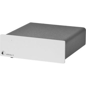 Pro-Ject USB Box S - D/A Converter with USB Input for PC Audio - Silver