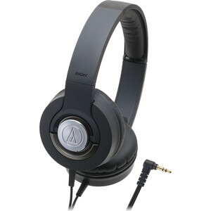 Headphones Solid Bass Dynamic Black / Mfr. No.: Ath-Ws33xbk