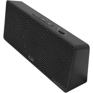 iLuv IMM157BLK Vibro Blue Bluetooth Wireless Speakers - Black