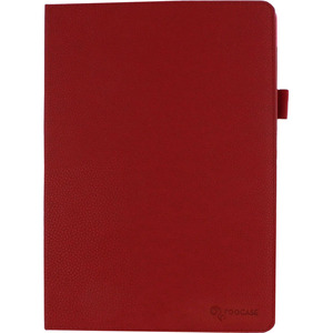 Roocase Vegan Leather Red Dual-View Case Memo Pad Fhd 10 / Mfr. No.: Rc-Memo-Pad10-Dv-Rd