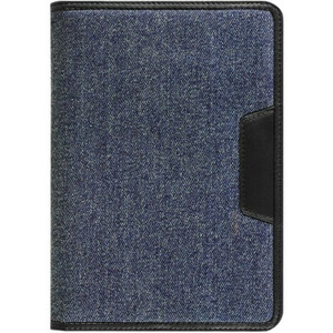 Denim Universal Tablet Folio Case Stand 7in W/ Multiple View / Mfr. No.: Autc07fd