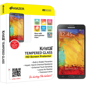 Kristal Tempered Glass Screen Protector For Samsung Galaxy No / Mfr. No.: Amz96701