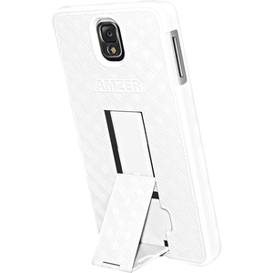 Snap On White Case With Kickstand For Samsung Galaxy No / Mfr. no.: AMZ96229