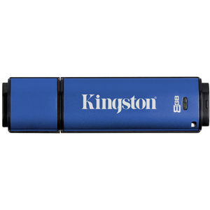 KINGSTON KINGSTON TECHNOLOGY Clé USB 3.0 DataTraveler Vault Privacy - 8Go - DTVP30/8GB
