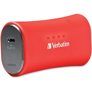 Verbatim Portable Power Pack 2200mAh for iPhone - Red / Mfr. No.: 98357