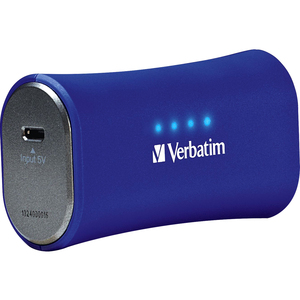 Verbatim Portable Power Pack 2200mAh for iPhone - Blue / Mfr. No.: 98358