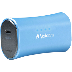 Verbatim Portable Power Pack 2200mAh for iPhone - Aqua Blue / Mfr. No.: 98359