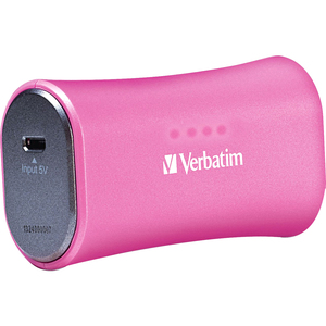 Verbatim Portable Power Pack 2200mAh for iPhone - Pink / Mfr. no.: 98361