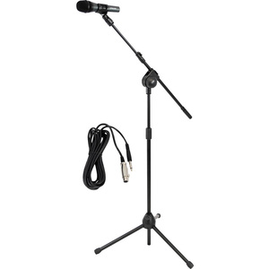 Microphone and TriPod Stand W/ Extending Boom and Mic Cable / Mfr. No.: Pmksm20