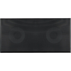 Dual 2way In-Wall Center Channel Speaker Syst Black 5.25in / Mfr. No.: Pdiwcs56bk