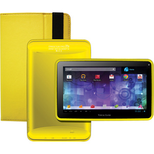 Prestige Pro 7d Pro Folio Bundle 7in 8gb Android 4.1 Dc Yellow / Mfr. No.: 7d8tcyel