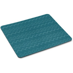 Mouse Pad Green Chevron 9x8 With Precise Mousing Surface / Mfr. No.: Mp114-Gr