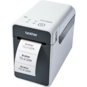 Brother TD-2120N Direct Thermal Printer - Monochrome - Desktop - Label/Receipt Print
