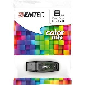 Clé USB Emtec C410 P2 - 8 Go - USB 2.0 - ECMMD8GC410