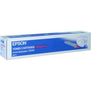 Toner Epson Magenta pour Aculaser C3000 - S050211