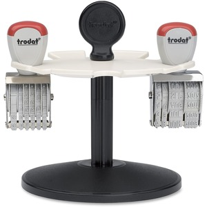 Trodat® Rotary Stamp Rack Holds 8 Stamps