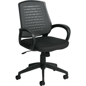 Offices To Go Java Mesh Medium Back Tilter Chair Black