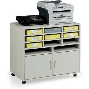"Star Subra Storage Cabinet With Paper Organizer, 32"" x 20"" x 29"""