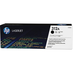HP Laser Cartridge CF380A #312A Black