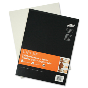 "Hilroy Studio Pro Watercolour Book 11"" x 15"" 15 Sheets/pad"