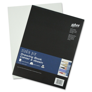 "Hilroy Studio Pro Drawing Book 9"" x 12"" 50 Sheets"