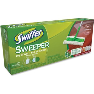 Swiffer® Sweeper Starter Kit w/Dry & Wet Cloths