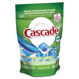 Cascade® ActionPac® Dishwasher Pacs All-in-One 25/pkg