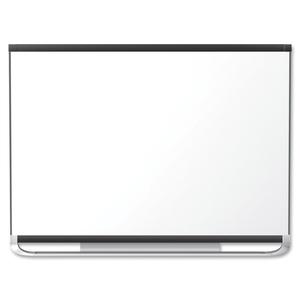 "Quartet® Prestige 2 Magnetic Total Erase Whiteboard 48"" x 72"" Graphite Frame"