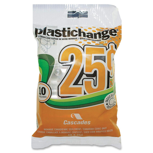 Plastichange® Coin Wrappers 25¢ 10/pkg