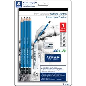 Staedtler® Mars® Lumoograph® Sketching Essentials 8/set