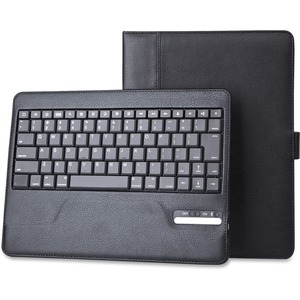 Vision Global® iPad Case with Removable Bluetooth®  Keyboard Black
