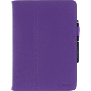 Roocase Dual Station Folio Case Smart Cover For IPad Air Purple / Mfr. No.: Rc-Apl-IPad5-Sta-Pr