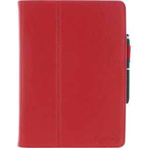 Roocase Dual Station Folio Case Smart Cover For IPad Air Red / Mfr. No.: Rc-Apl-IPad5-Sta-Rd