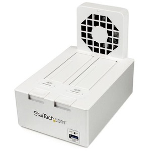 USB 3.0 Dual SATA HDD Dock With Fast Charge Hub and Uasp Whi / Mfr. No.: Sdock2u33hfw