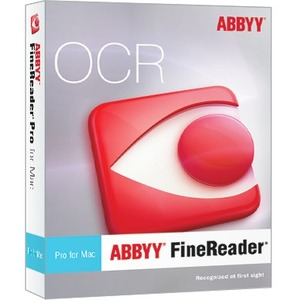 Finereader Pro For Mac Full Edition Box Version / Mfr. No.: Frpfm8xb