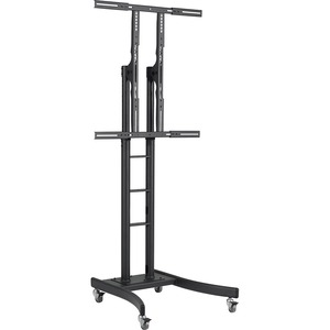 Heavy Duty Mobile Tv Cart Max 275lbs Portrait/ Landscape / Mfr. no.: TH-TVCH