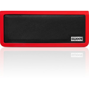 Sweex Bluetooth Portable Stereo Speaker Rock Star Red