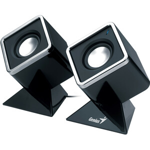 Genius Cubed Stereo Speakers
