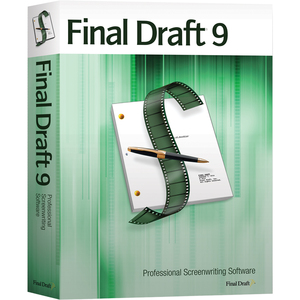 Final Draft 9 for Screen Writing / Mfr. No.: Fd9-Box
