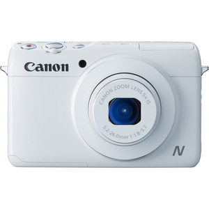 Canon Powershot N100 White 12.1mp 5x Opt 3.0in LCD / Mfr. No.: 9169b001