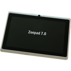 Zeepad 7.0 7in 512m/4g Android 4.1 Wireless White / Mfr. No.: Wfgv04rc3 7.0dc_Wht