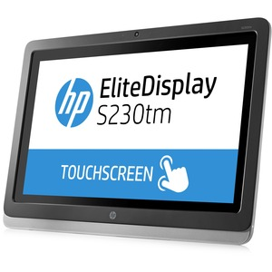 23in LED Touch 1920x1080 1000:1 Elitedisplay S230tm DVD-D Dp / Mfr. No.: E4s03AA#Aba