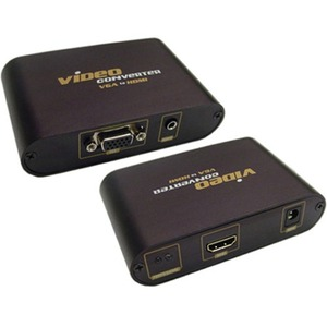 VGA With 3.5mm To HDMI Converter Box / Mfr. No.: 40-40vh02
