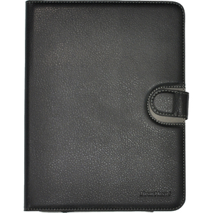 Leather Style Universal Folio 8in Microfiber Interior W/ Stan / Mfr. No.: Unv2000blk-8