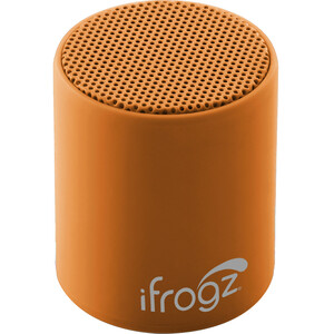 ifrogz Coda POP Bluetooth Speaker Orange Cream